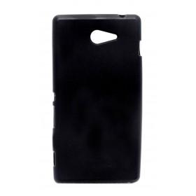 Θήκη TPU Ancus για Sony Xperia M2/M2 Dual Μαύρη