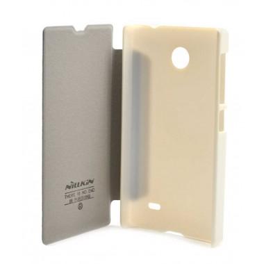 Θήκη Book Nillkin Sparkle για Nokia X Λευκή