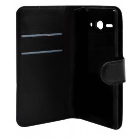 Θήκη Book Ancus Teneo για Huawei Ascend Y530 Μαύρη