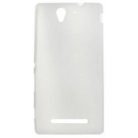 Θήκη TPU Ancus για Sony Xperia C3 D2533 Frost - Διάφανη