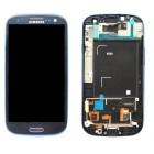 Γνήσια Οθόνη & Μηχανισμός Αφής Samsung i9301 Galaxy S3 Neo ( S III Neo ) Μπλέ GH97-15472A