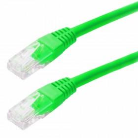 Καλώδιο Δικτύου Jasper Cat 5E UTP 5m Πράσινο Patch Cord
