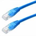 Καλώδιο Δικτύου Jasper Cat 5 UTP 1m Μπλέ Patch Cord