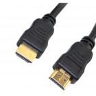 Καλώδιο σύνδεσης Jasper HDMI 1.4 A Αρσενικό σε A Αρσενικό Gold Plated CCS 1m Μαύρο