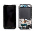 Γνήσια Οθόνη & Μηχανισμός Αφής Samsung i9001 Galaxy S Plus Μαύρο GH97-12371A