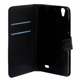 Θήκη Book Ancus Teneo για Huawei Ascend G630 Μαύρη
