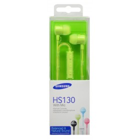 Hands Free Stereo Samsung EO-HS1303GEGWW για i9505/i9500 Galaxy S4/N9005 Note 3 ( Note III ) 3.5 mm Πράσινο