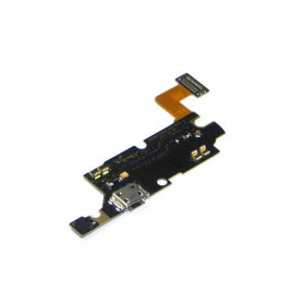 Καλώδιο Πλακέ Samsung N7000/i9220 Galaxy Note με Επαφή Φόρτισης και Μικρόφωνο OEM Type A