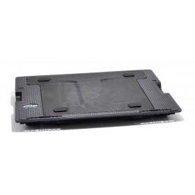 Laptop Cooler Mobilis CP140 Μαύρο με Ρυθμιζόμενη Βάση για Φορητούς Υπολογιστές έως 17