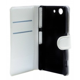 Θήκη Book Ancus Teneo για Sony Xperia Z3 Compact Λευκή