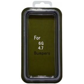 Θήκη Bumper Ancus για Apple iPhone 6/6S Μαύρη