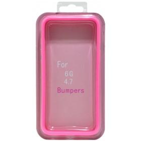 Θήκη Bumper Ancus για Apple iPhone 6/6S Ρόζ