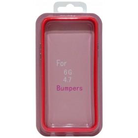 Θήκη Bumper Ancus για Apple iPhone 6/6S Κόκκινη