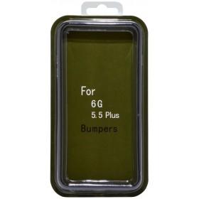 Θήκη Bumper Ancus για Apple iPhone 6 Plus/6S Plus Μαύρο