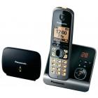 Ασύρματο Ψηφιακό Τηλέφωνο Panasonic KX-TG6761GB (EU) Μεγάλης Εμβέλειας Μαύρο - Ασημί με Αναμεταδότη, Τηλεφωνητή