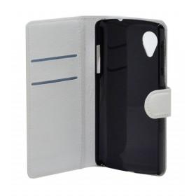 Θήκη Book Ancus Teneo για LG Nexus 5 D820/D821 Λευκή