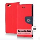 Θήκη Book Goospery Fancy Diary για Apple iPhone 6/6S Κόκκινο - Σκούρο Μπλέ by Mercury