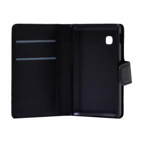 Θήκη Book Ancus Teneo για LG T580 Μαύρη