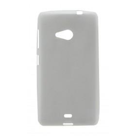 Θήκη TPU Ancus για Microsoft Lumia 535 Frost - Διάφανη