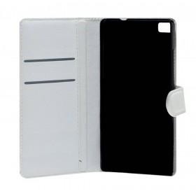 Θήκη Book Ancus Teneo για Huawei Ascend P8 Λευκή