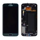 Γνήσια Οθόνη & Μηχανισμός Αφής Samsung SM-G925F Galaxy S6 Edge Πράσινο GH97-17162E