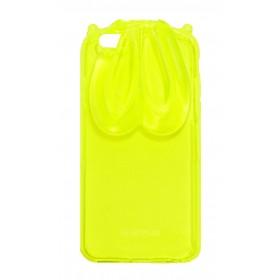 Θήκη TPU Verus Rabbit Ears για Apple iPhone 6/6S Κίτρινη