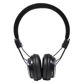 Ακουστικά Stereo NIA Foldable NIA-1682 3.5 mm Μαύρα με Ραδιόφωνο FM και MP3 Player με Κάρτα Μνήμης Micro SD