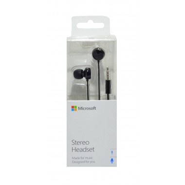 Hands Free Stereo Microsoft WH-208 για Lumia 520/900 3,5 mm Μαύρο