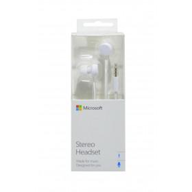 Hands Free Stereo Microsoft WH-208 για Lumia 520/900 3,5 mm Λευκό