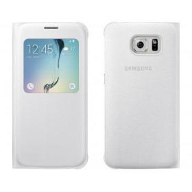 Θήκη Book S-View Samsung EF-CG920PWEGWW για SM-G920F Galaxy S6 Λευκή