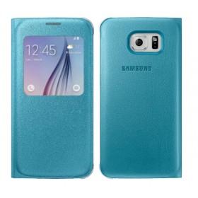 Θήκη Book S-View Samsung EF-CG920PLEGWW για SM-G920F Galaxy S6 Μπλέ