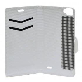 Θήκη Book Ancus Stick it για Maxcom MS514 Λευκή