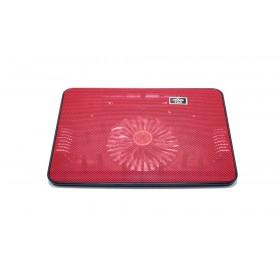 Laptop Cooler Mobilis Cooling Pad A6 Κόκκινο για Φορητούς Υπολογιστές έως 15