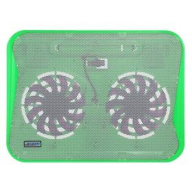 Laptop Cooler CoolCold Ice Thin K19 Πράσινο για Φορητούς Υπολογιστές έως 17