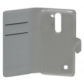 Θήκη Book Ancus Teneo για LG Magna H500F/G4c H525N TPU Λευκή