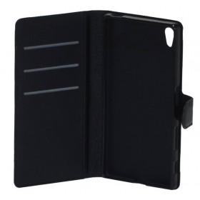 Θήκη Book Ancus Teneo για Sony Xperia Z5 TPU Μαύρη