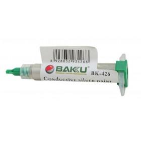 Αγώγιμη Κόλλα για Επιδιόρθωση Ηλεκτρονικών Επισκευών Bakku BK-426