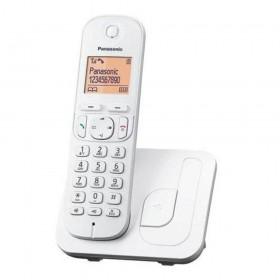 Ασύρματο Ψηφιακό Τηλέφωνο Panasonic KX-TGC210GRW Λευκό με Ανοιχτή Ακρόαση, Φραγή ενοχλητικών Κλήσεων και Λειτουργία Eco