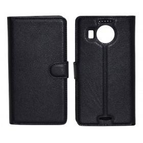 Θήκη Book Ancus Teneo για Microsoft Lumia 950 XL/950 XL Dual Sim TPU Μαύρη