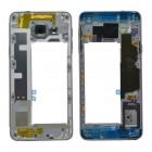 Μεσαίο Πλαίσιο Samsung SM-A310F Galaxy A3 (2016) με Buzzer και Πλήκτρο On/Off, Έντασης Μαύρο Original GH97-18074B