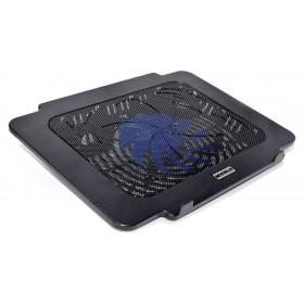 Laptop Cooler Mobilis K16 Μαύρο για Φορητούς Υπολογιστές έως 14