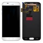 Γνήσια Οθόνη & Μηχανισμός Αφής Samsung SM-G930F Galaxy S7 χωρίς Κόλλα Λευκό GH97-18523D