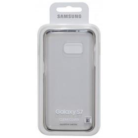 Θήκη Faceplate Samsung Clear Cover EF-QG930CFEGWW για SM-G930F Galaxy S7 Διάφανο - Χρυσό