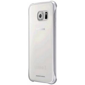 Θήκη Faceplate Samsung Clear Cover EF-QG920BSEGWW για SM-G920F Galaxy S6 Διάφανο - Ασημί