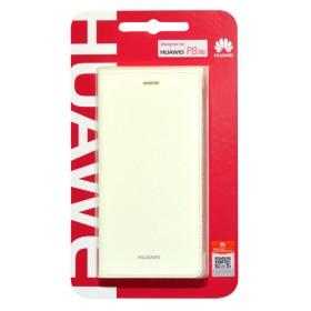 Θήκη Book Huawei για P8 Lite Λευκή Original