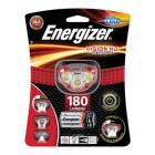 Φακός Κεφαλής Energizer Vision HD 3 Led 180 Lumens με Μπαταρίες AAA 3 Τεμ. Κόκκινο