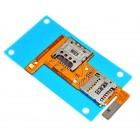 Επαφές Κάρτας Sim LG K4 4G K120E με Αναγνώστη Κάρτας Μνήμης Original EBR81968201