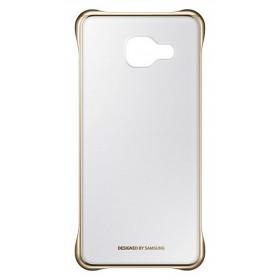 Θήκη Faceplate Samsung Clear Cover EF-QA310CFEGWW για SM-A310F Galaxy A3 (2016) Διάφανο - Χρυσό