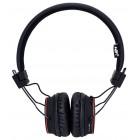 Ακουστικά Stereo NIA Foldable NIA-X2 3.5 mm Μαύρα με Bluetooth, Μικρόφωνο, Ραδιόφωνο FM και MP3 Player με Κάρτα Μνήμης Micro SD