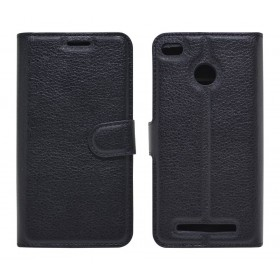 Θήκη Book Ancus Teneo για Xiaomi Redmi 3/3S TPU Μαύρη